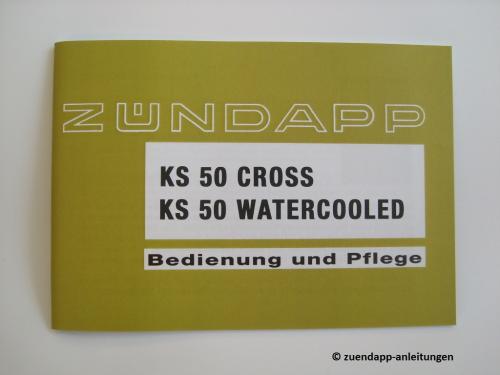 bedienungsanleitung z ndapp ks 50 cross watercooled typ. Black Bedroom Furniture Sets. Home Design Ideas