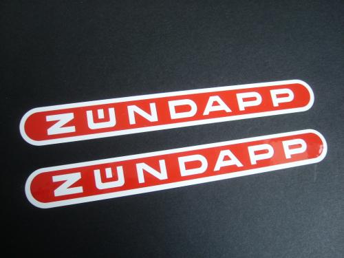 Zündapp Original Aufkleber Vom Hersteller Bentlage Zündapp
